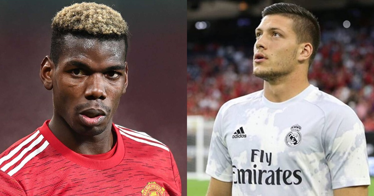3 Manchester United Players Real Madrid can demand for Luka Jovic